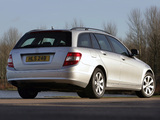 Pictures of Mercedes-Benz C 180 Kompressor Estate UK-spec (S204) 2008–11