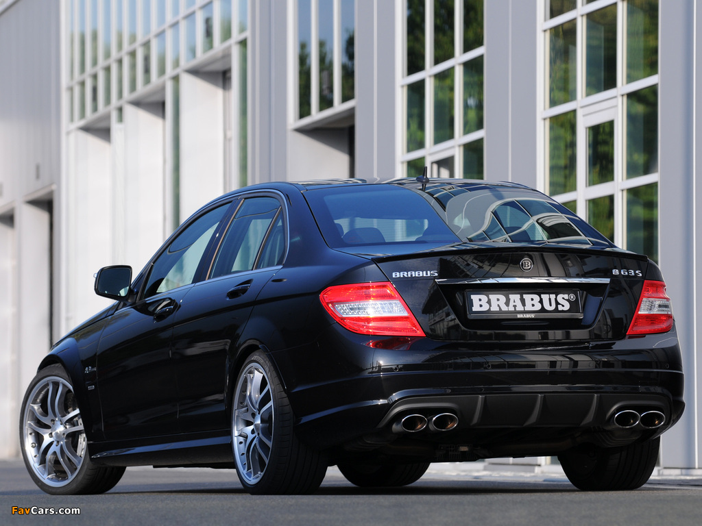 Pictures of Brabus B63 S (W204) 2008 (1024 x 768)