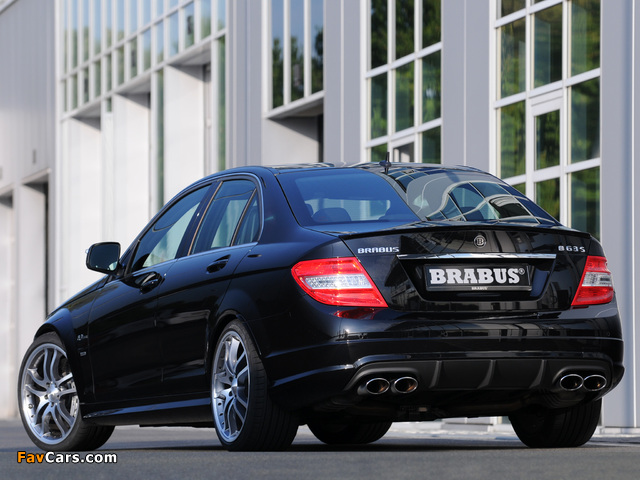 Pictures of Brabus B63 S (W204) 2008 (640 x 480)