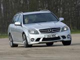 Pictures of Mercedes-Benz C 63 AMG Estate UK-spec (S204) 2008–11