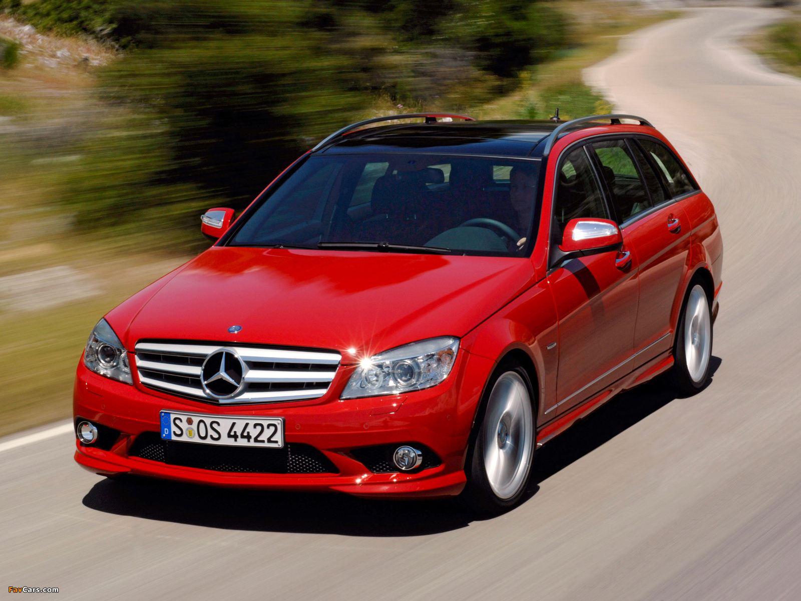 Pictures of Mercedes-Benz C 350 Estate (S204) 2008–11 (1600 x 1200)