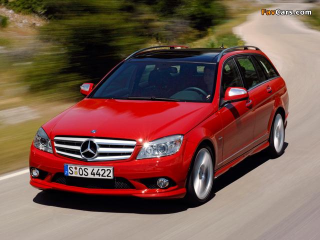 Pictures of Mercedes-Benz C 350 Estate (S204) 2008–11 (640 x 480)