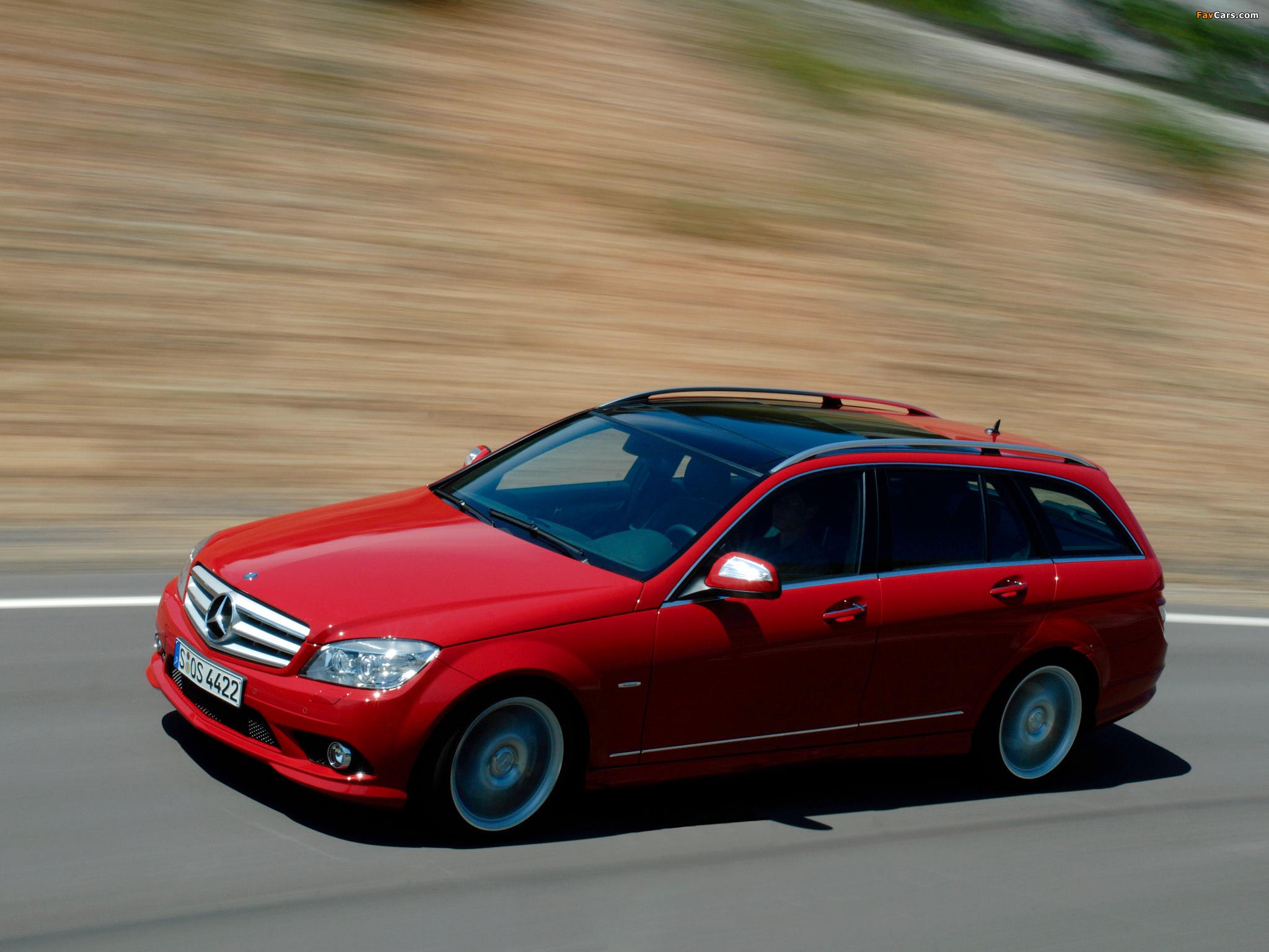 Pictures of Mercedes-Benz C 350 Estate (S204) 2008–11 (2048 x 1536)