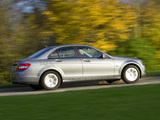 Pictures of Mercedes-Benz C 180 Kompressor BlueEfficiency UK-spec (W204) 2008–11