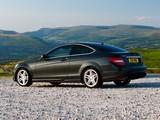 Pictures of Mercedes-Benz C 220 CDI Coupe UK-spec (C204) 2011