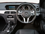 Pictures of Mercedes-Benz C 63 AMG Coupe UK-spec (C204) 2011