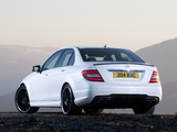 Pictures of Mercedes-Benz C 63 AMG UK-spec (W204) 2011