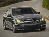 Pictures of Mercedes-Benz C 63 AMG US-spec (W204) 2011