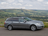 Pictures of Mercedes-Benz C 220 CDI Estate UK-spec (S204) 2011