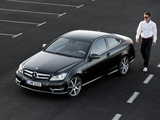 Pictures of Mercedes-Benz C 250 CDI Coupe (C204) 2011