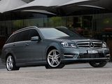 Pictures of Mercedes-Benz C 250 CDI AMG Sports Package Estate AU-spec (S204) 2011