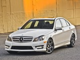 Pictures of Mercedes-Benz C 300 4MATIC AMG Sports Package US-spec (W204) 2011