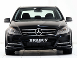 Pictures of Brabus Mercedes-Benz C-Klasse (W204) 2011