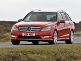 Pictures of Mercedes-Benz C 250 CDI AMG Sports Package Estate UK-spec (S204) 2011