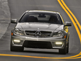 Pictures of Mercedes-Benz C 63 AMG Coupe US-spec (C204) 2011
