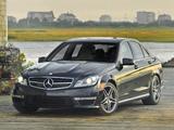 Pictures of Mercedes-Benz C 63 AMG US-spec (W204) 2011