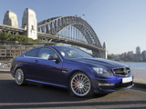 Pictures of Mercedes-Benz C 63 AMG Coupe AU-spec (C204) 2011