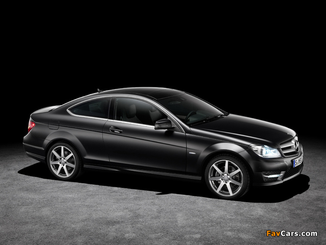 Pictures of Mercedes-Benz C 250 CDI Coupe (C204) 2011 (640 x 480)