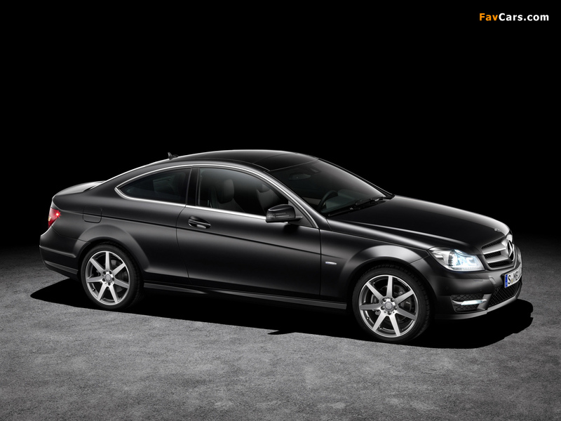 Pictures of Mercedes-Benz C 250 CDI Coupe (C204) 2011 (800 x 600)