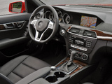 Pictures of Mercedes-Benz C 350 AMG Sports Package US-spec (W204) 2011