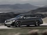 Pictures of Mercedes-Benz C 63 AMG Black Series Coupe UK-spec (C204) 2012