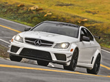 Pictures of Mercedes-Benz C 63 AMG Black Series Coupe US-spec (C204) 2012