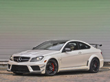 Pictures of Mercedes-Benz C 63 AMG Black Series Coupe US-spec (C204) 2012