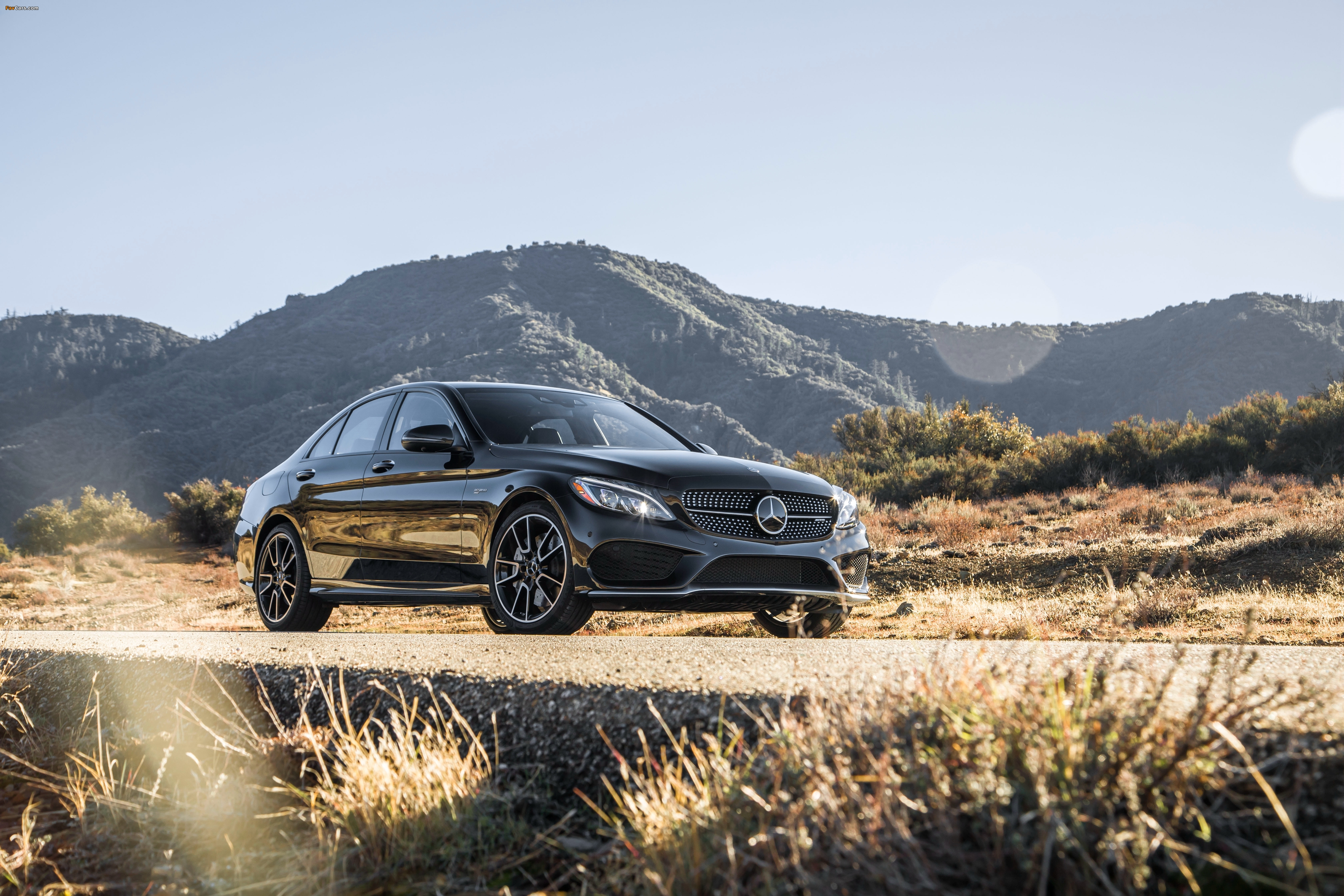 Pictures of Mercedes-AMG C 43 4MATIC North America (W205) 2016 (4096 x 2731)