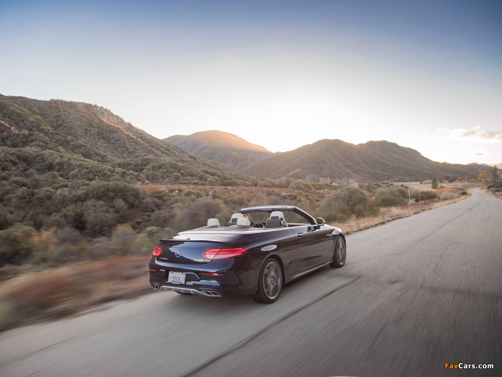 Pictures of Mercedes-AMG C 43 4MATIC Cabriolet North America (A205) 2016 (1024 x 768)
