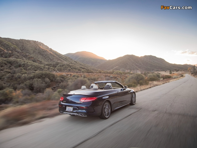 Pictures of Mercedes-AMG C 43 4MATIC Cabriolet North America (A205) 2016 (640 x 480)