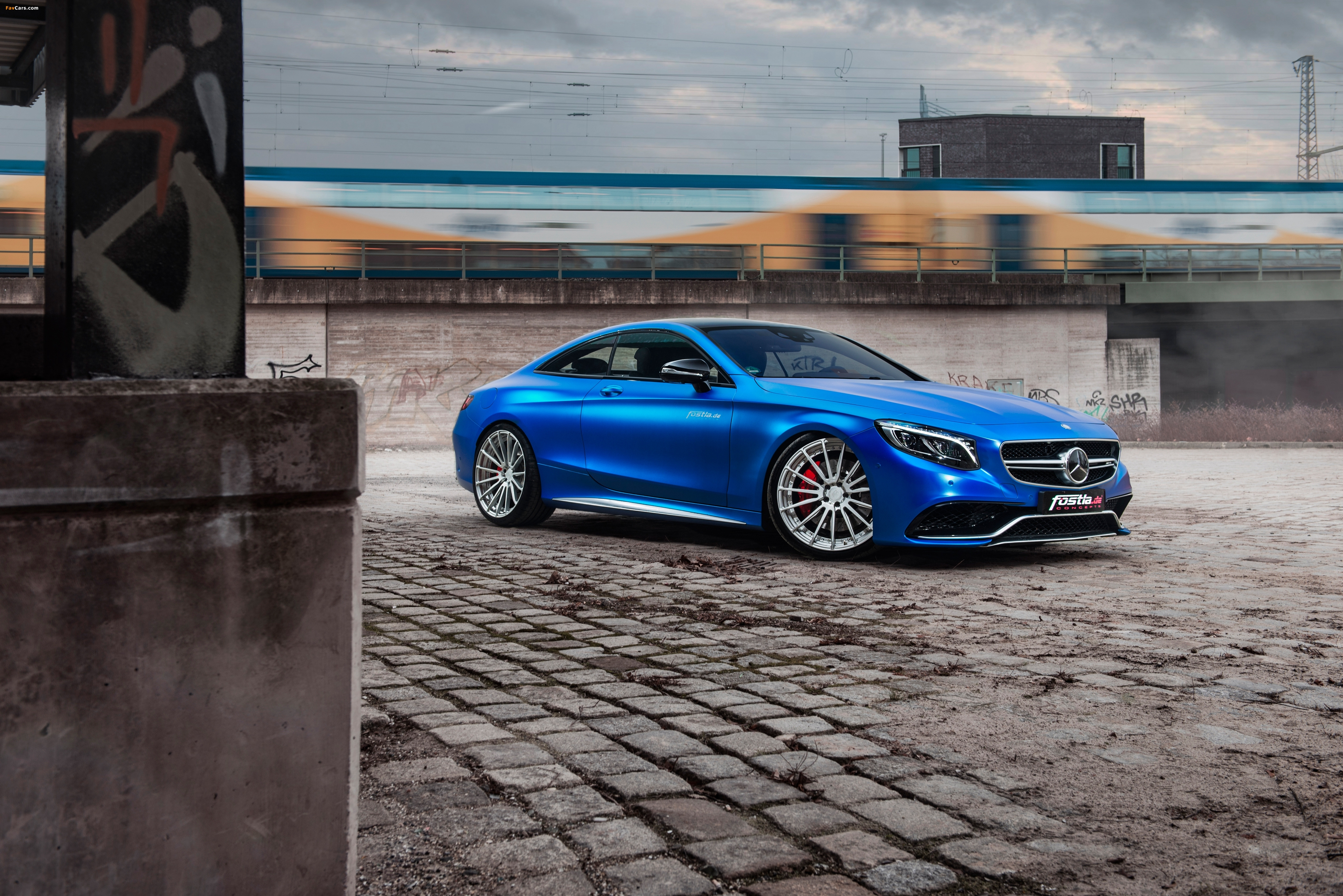 Pictures of Mercedes-AMG S 63 Coupé by Fostla & PP-Performance (C217) 2017 (4096 x 2734)