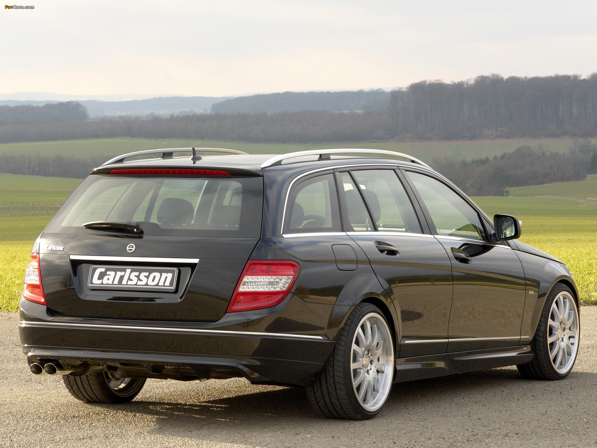 Pictures of Carlsson Mercedes-Benz C-Klasse Estate (S204) 2008 (2048 x 1536)