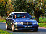 Mercedes-Benz C 230 Kompressor (W202) 1997–2000 wallpapers