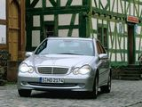 Mercedes-Benz C 270 CDI (W203) 2000–05 wallpapers