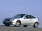Mercedes-Benz C-Klasse Sportcoupe (C203) 2001–07 wallpapers