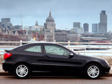 Mercedes-Benz C 200 Kompressor Sportcoupe UK-spec (C203) 2001–05 wallpapers