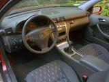Mercedes-Benz C 230 Kompressor Sportcoupe US-spec (C203) 2001–05 wallpapers