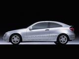 Mercedes-Benz C-Klasse Sportcoupe (C203) 2001–07 wallpapers