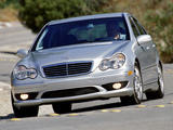 Mercedes-Benz C 32 AMG US-spec (W203) 2001–04 wallpapers