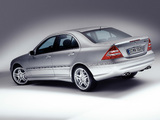 Mercedes-Benz C 55 AMG (W203) 2004–07 wallpapers