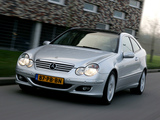 Mercedes-Benz C 180 Kompressor Sportcoupe (C203) 2005–07 wallpapers
