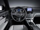 Mercedes-Benz C 350 4MATIC (W204) 2007–11 wallpapers