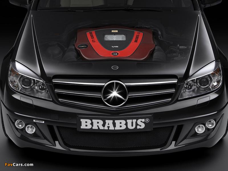 Brabus Mercedes-Benz C-Klasse (W204) 2007 wallpapers (800 x 600)