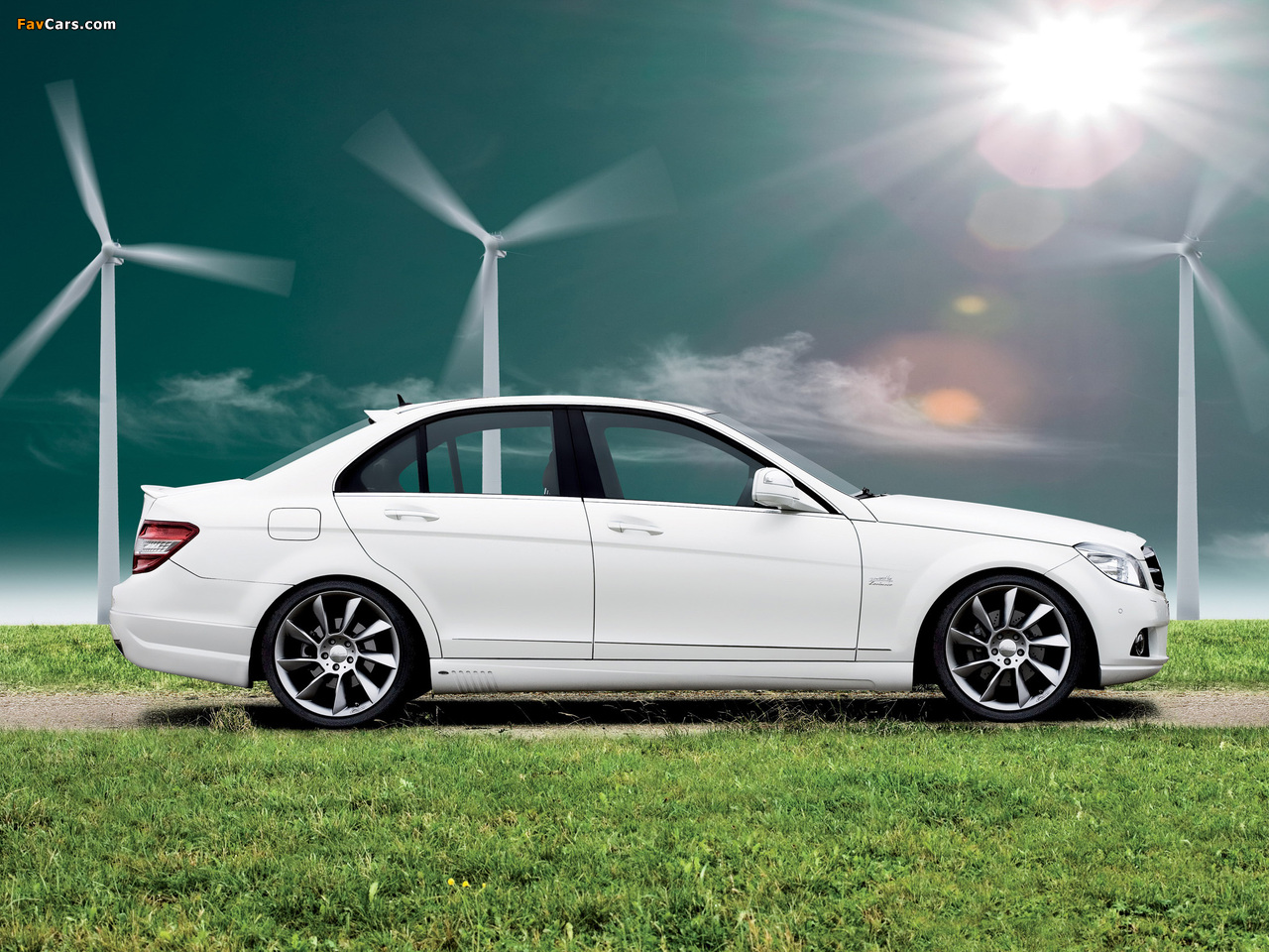 Lorinser Mercedes-Benz C-Klasse (W204) 2007–11 wallpapers (1280 x 960)