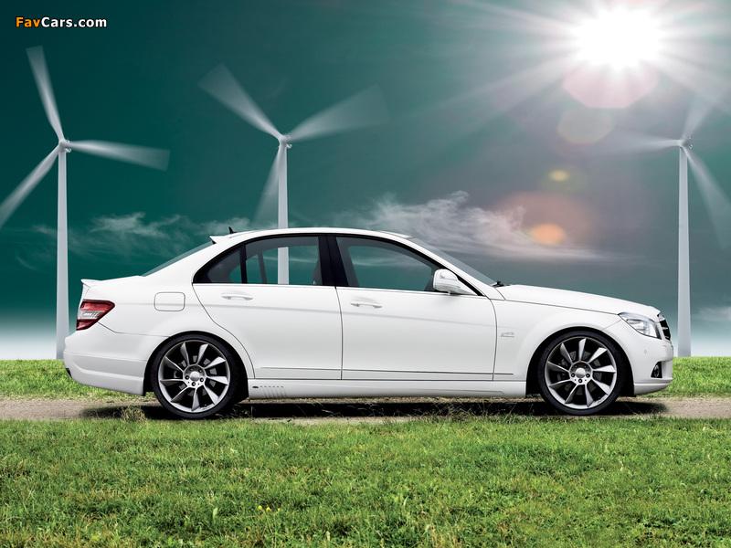 Lorinser Mercedes-Benz C-Klasse (W204) 2007–11 wallpapers (800 x 600)
