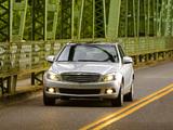 Mercedes-Benz C 300 US-spec (W204) 2007–11 wallpapers