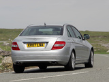 Mercedes-Benz C 350 UK-spec (W204) 2007–11 wallpapers
