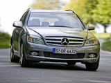Mercedes-Benz C 320 CDI 4MATIC Estate (S204) 2008–11 wallpapers
