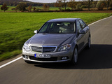 Mercedes-Benz C 350 CGI BlueEfficiency (W204) 2008–11 wallpapers