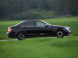 Edo Competition Mercedes-Benz C 63 AMG (W204) 2009–11 wallpapers